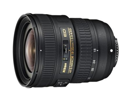 The Nikon AF-S NIKKOR 18-35mm is an ultra-wide-angle zoom lens that is not only compact, but also relatively light