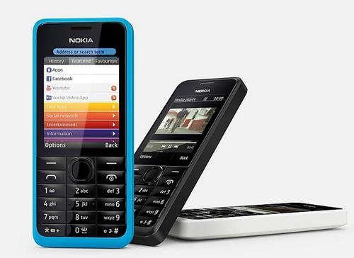 The Nokia 301