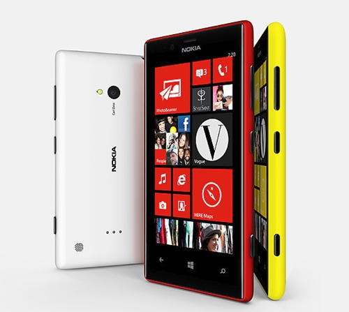 The Nokia Lumia 720 comes with a 4.3-inch IPS touchscreen with ClearBlack technology