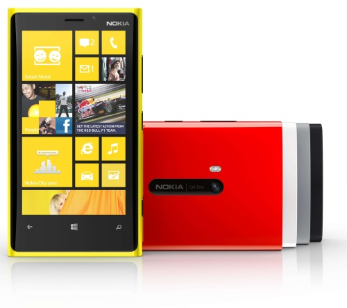 Here's the Nokia Lumia 920