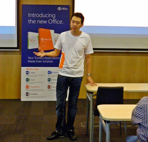 Mr. Gerald Leo, Lead for Microsoft Office Division, Microsoft Singapore, kicked off by sharing with the audience the objectives of the introductory session.