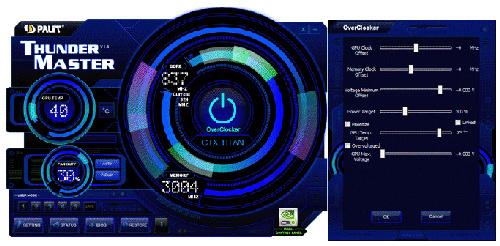 Palit's ThunderMaster V1.8 Overclocking Tool Supports GPU ...