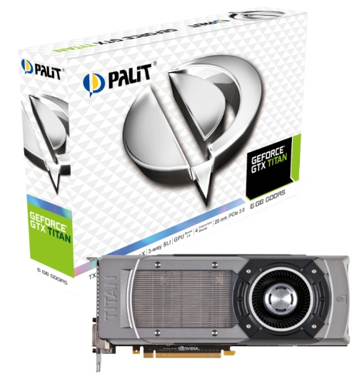 Palit Unveils its GeForce GTX TITAN Graphics Card - HardwareZone com my