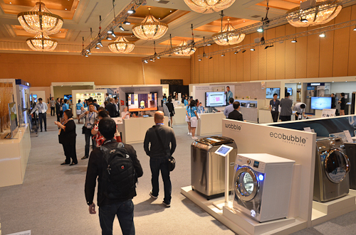 Products from the Samsung SEA Forum 2013 filled the entire floor of two grand ballrooms