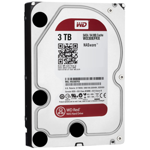 Western Digital Red 3TB HDD (WD30EFRX)