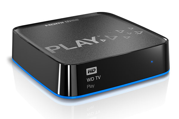 The WD TV Play is a low-cost 1080p media player. (Image source: WD.)