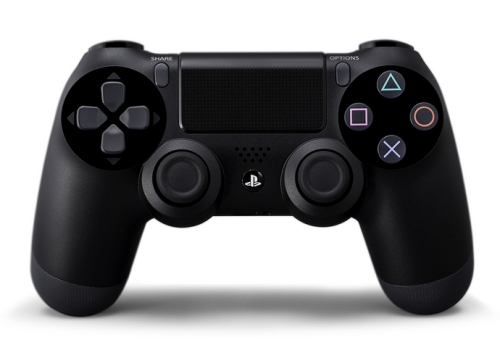 Similar to the leaked prototype photo, the official DualShock 4 Wireless Controller has a front touch pad, with a new Options button to replace the traditional Select and Start buttons. In addition to a built-in speaker, the DualShock 4 also comes with a Share button to broadcast gameplay in real-time via livestream services such as uStream.
