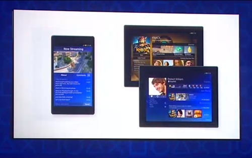 Smartphones and tablets based on iOS and Android will also benefit from becoming second screens via the PlayStation App.