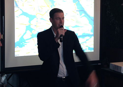 Ryan Graves, Uber's Head of Global Operations, was at the event to commemorate the official launch of Uber in Singapore.