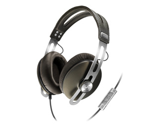 Sennheiser Momentum Headphones in black and brown