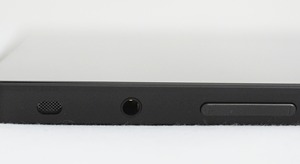 You can find the 3.5mm audio output jack and volume controls on the left side of the Surface.