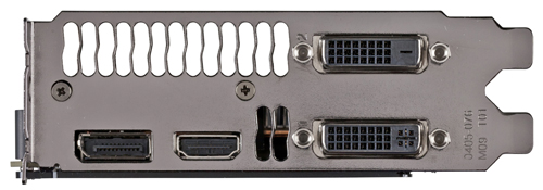 The GTX Titan will utilize the same ports as the GTX 680.