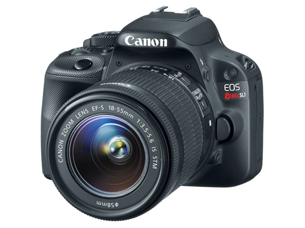 The EOS 100D (US version shown).