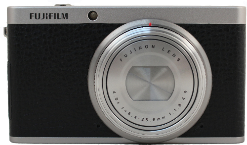 The Fujifilm XF1 sports retro good looks similar to its siblings in the X-series.