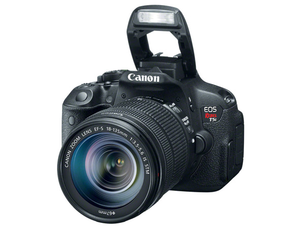 The Canon EOS 700D (US version shown)