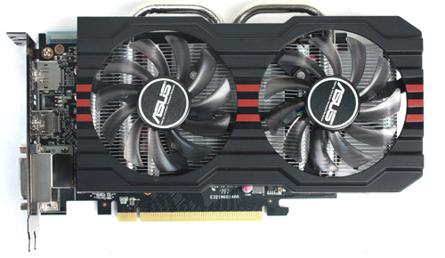 Looks-wise, the HD 7790 looks much like ASUS' other custom DirectCU II models.