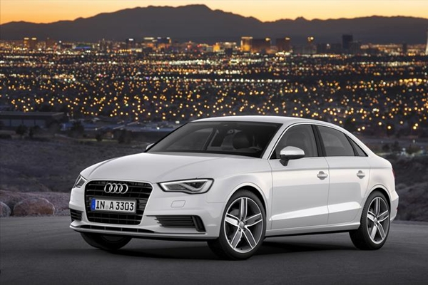 The Audi 2015 Audi A3 sedan. (Image Source: Audi)