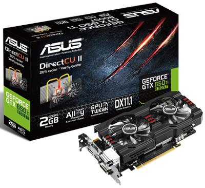 ASUS GTX650TIB-DC2-2GD5