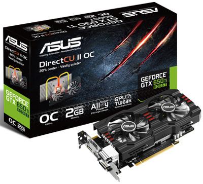 ASUS GTX650TIB-DC2OC-2GD5 (GeForce GTX 650 Ti Boost DirectCU II)