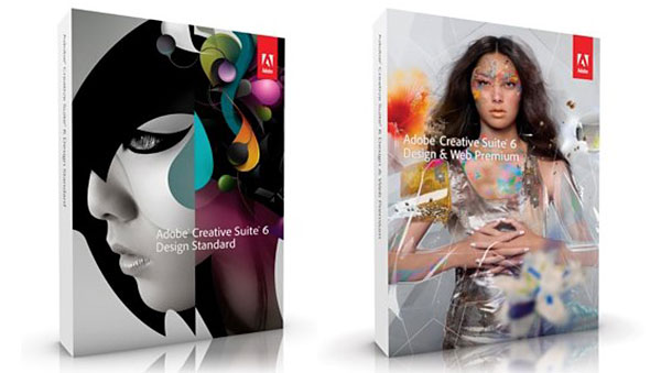 Soon, you'll not be able to find Creative Suite retail boxes in the stores. (Image source: Adobe.)