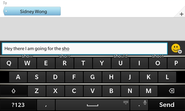 BlackBerry proves that it is the best in the industry when it comes to designing physical and virtual keyboards.