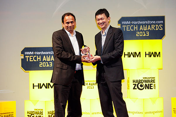 Dell's S2340L got our nod for the Best Full HD 23-inch LED-backlit Monitor award, while voters chose Dell/Alienware as their favorite gaming notebook brand. Mr. Deepak Wagh, General Manager (Singapore), Consumer & Emerging Markets, Dell Singapore, was present to receive the awards.