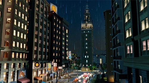 Screenshot of the citybuilding simulator (Image source: SimCity)