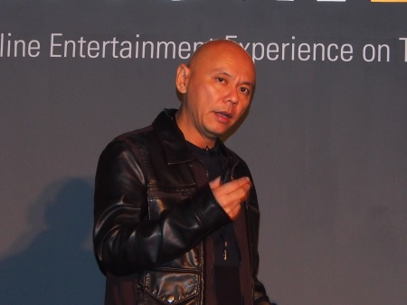 James Chong explains the idea behind the conception of the EMAGINE set-top box