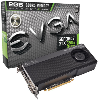 EVGA GeForce GTX 650 Ti Boost