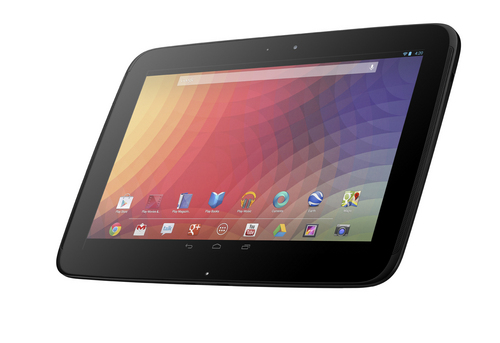 We really like the Nexus 10's all-black, minimalist aesthetic quality despite its plasticky construction and feel.