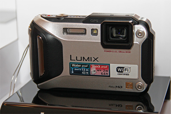 The FT-5 is a rugged camera with Wi-Fi, NFC and GPS.