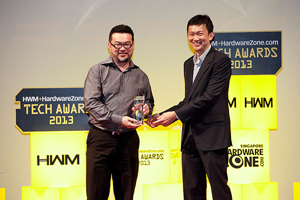 Intel was the clear winner in the Readers' Choice category for Best CPU Brand. Its Core i7-3770K processor also won the Editor's Choice award for Best Desktop CPU. Receiving the award was Mr. Collin Tan, Country Manager (Singapore) for Intel.