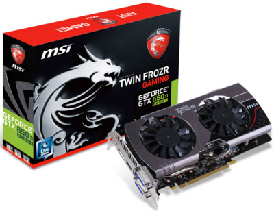 MSI N650Ti TF 2GD5 BE