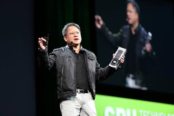 NVIDIA CEO Jen-Hsun Huang, as seen at his keynote address at GTC 2013. (Image Source: NVIDIA)