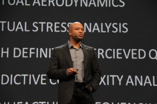 Ralph Gilles, Senior Vice President - Product Design and President and CEO, SRT (Street and Racing Technology) Brand and Motorsports at Chrysler Group LLC