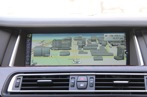 The 10.2-inch high-resolution display for its infotainment system is powered by NVIDIA's Tegra CPU and can be used to access a slew of information such as maps for navigation and proximity sensors. The full-screen map display, including a 3D option, allows you to see photo-realistic images of locations to provide orientation points on your journey.