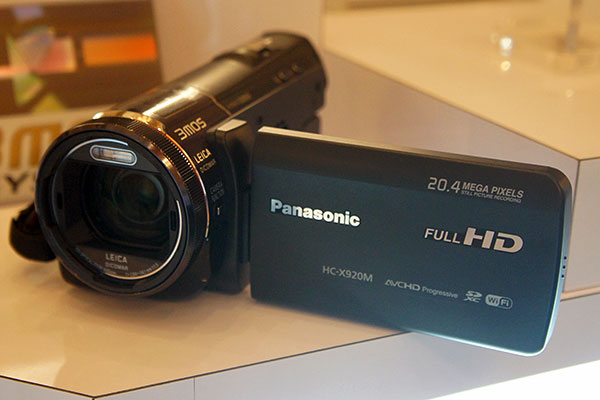 The HC-X920M is Panasonic's newest flagship consumer camcorder.