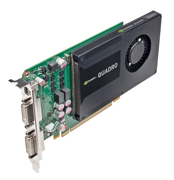 NVIDIA Quadro K2000D (Image Source: NVIDIA)