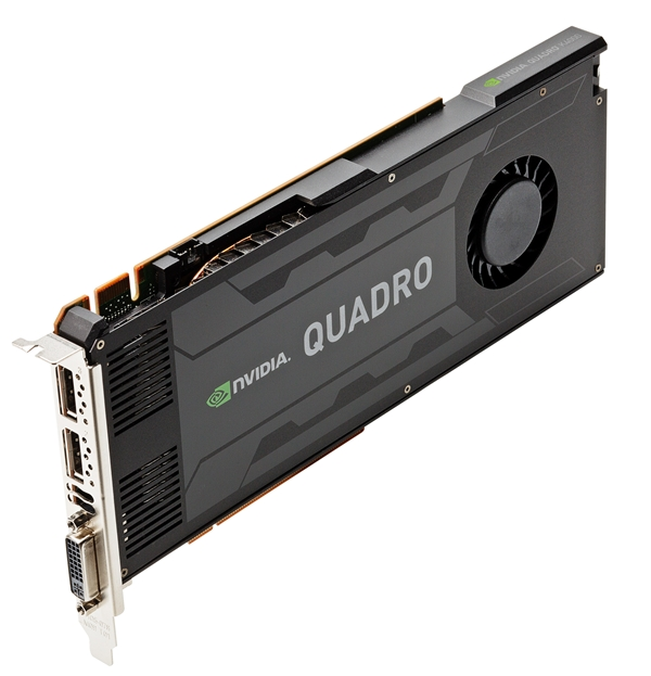 NVIDIA Quadro K4000 (Image Source: NVIDIA)