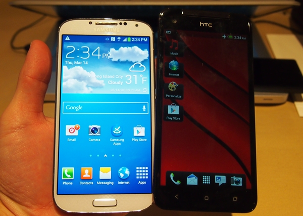 Samsung Galaxy S4 vs. HTC Butterfly