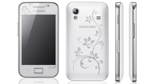 The Samsung GALAXY Y is part of the La'Fleur collection