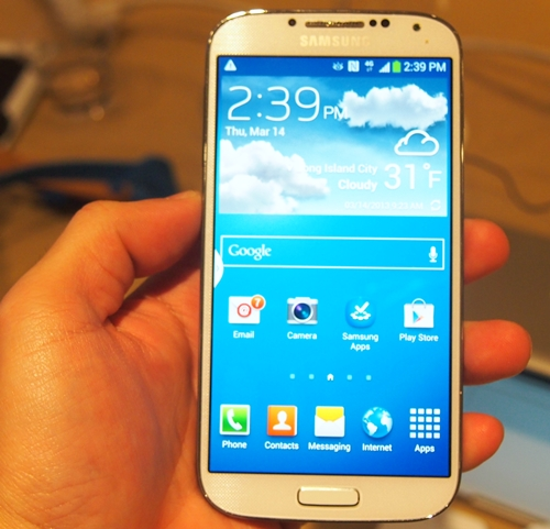 Hands-on with the Samsung GALAXY S 4