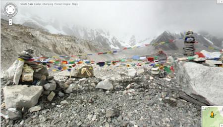 Everest South Base Camp <br>Image source: Google