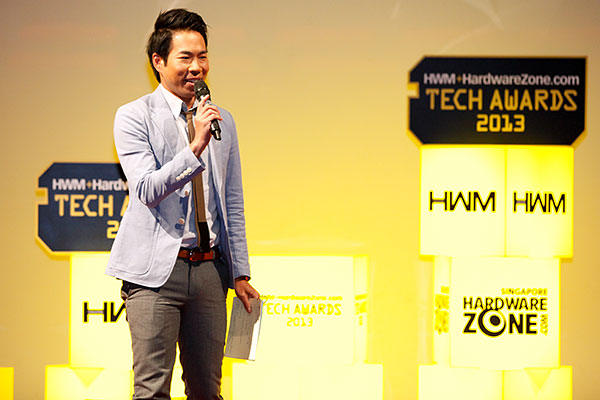 The host for this year's Tech Awards ceremony is Mr. Chua En Lai, a renowned stage and TV actor.