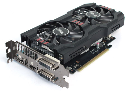 ASUS' Radeon HD 7790 uses its popular DirectCU II cooler.