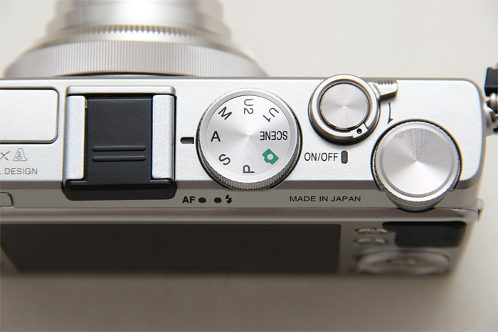 The Power switch sits flush with the edge, making it hard to flip when you're holding the camera.