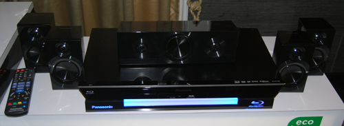 The SC-BTT 400 is a more conventional 5.1 sound system and seemed sedate when compared to the higher model SC-BTT 430.
