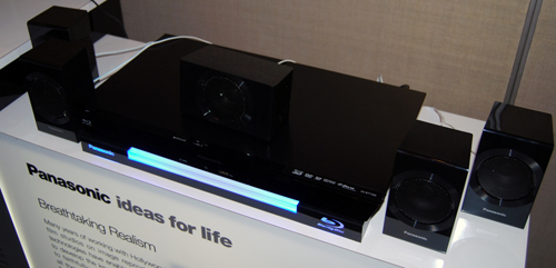 The SC-BTT 300 is the entry level home theatre offering from Panasonic.