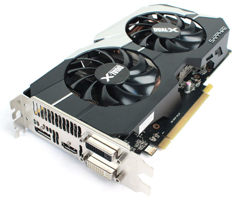 The Sapphire Radeon HD 7790 OC also utilizes a dual-fan cooling system.