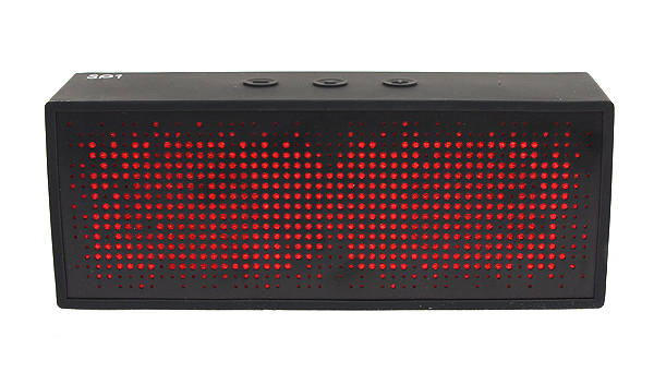 The Antec SP1 a.m.p. portable wireless Bluetooth speaker SP1 looks remarkably similar to the Jambox Jawbone and has an attractive, eye-catching design. We love the mix of red and black.